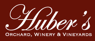 Hubers Orchard Winery and Vineyard logo from web